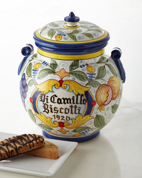 Melograno Grande Biscotti Jar