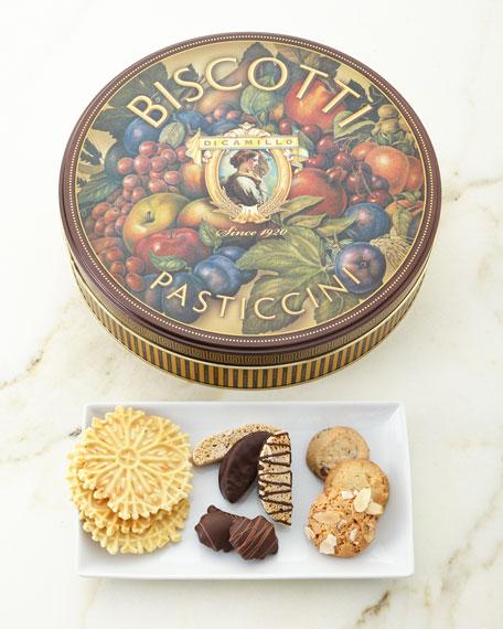 Medallion Roma Biscotti Tin