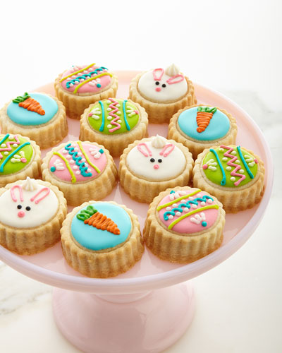 Easter Bunny Shortbread Cookies