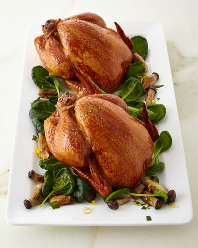 Cured & Smoked Chickens  Set of 2