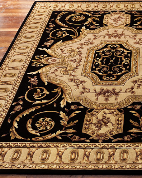 Empire Scrolls Rug, 8' Square