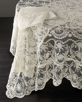 Chantilly Lace Tablecloth, Runner, Placemat, & Napkin