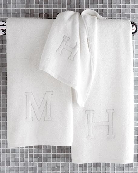 Matouk Auberge Monogrammed Bath Towel