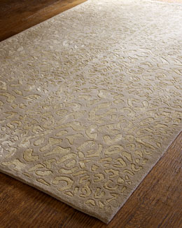 """Golden Leopard"" Rug"