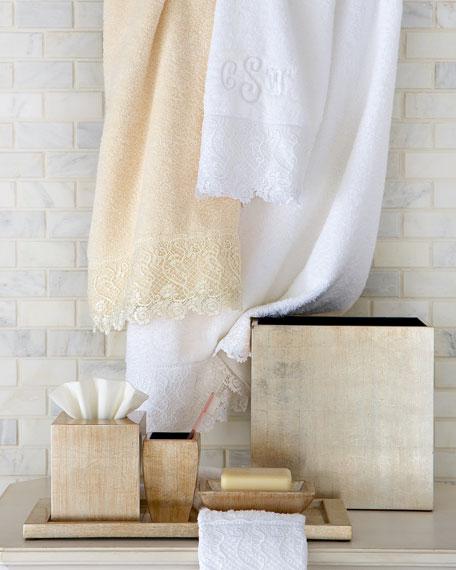 Callista Lace Bath Towel