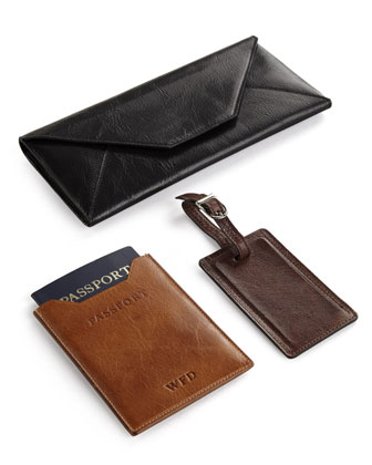 Classic Leather Travel Accessories
