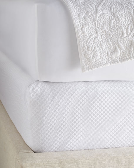 """Queen Petite Trellis Box Spring Cover, 60"""" x 80"""" with 12"""" pocket"""