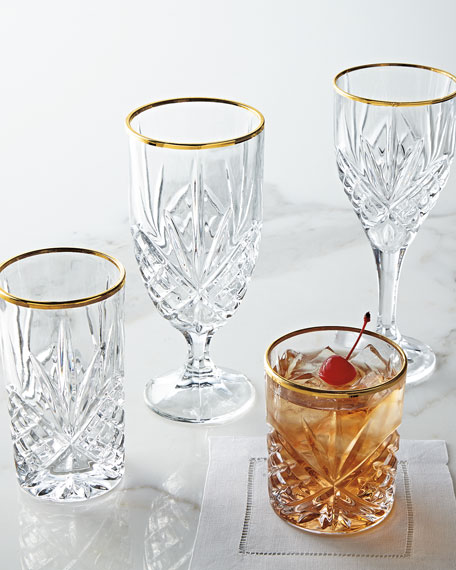 Dublin Gold Double Old-Fashioneds, Set of 4