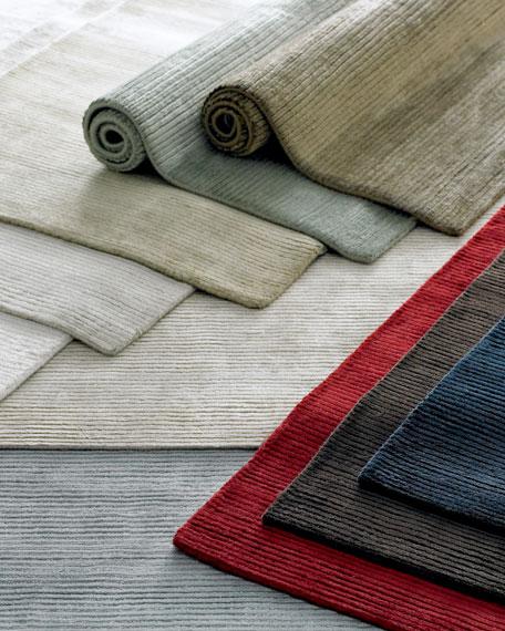 Textured Lines Rug, 6' x 9'