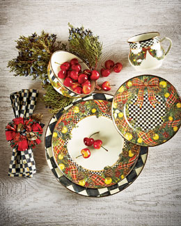 Evergreen Christmas Dinnerware