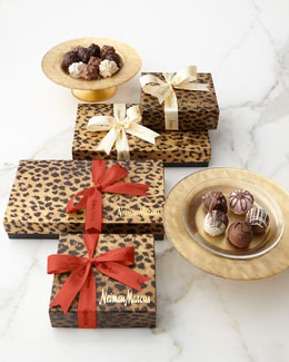 Gift-Wrapped Chocolate Truffles & Fudge Love