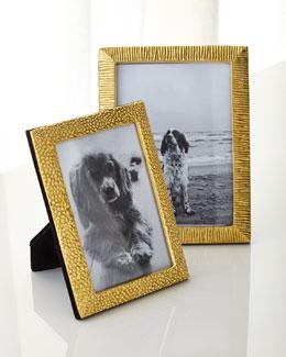 Textured Brass Frames