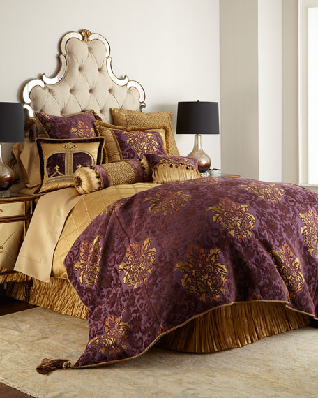 Royal Court King Floral Duvet Cover