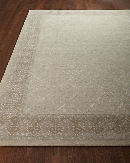"Diamond Field Rug, 7'6"" x 9'6"""