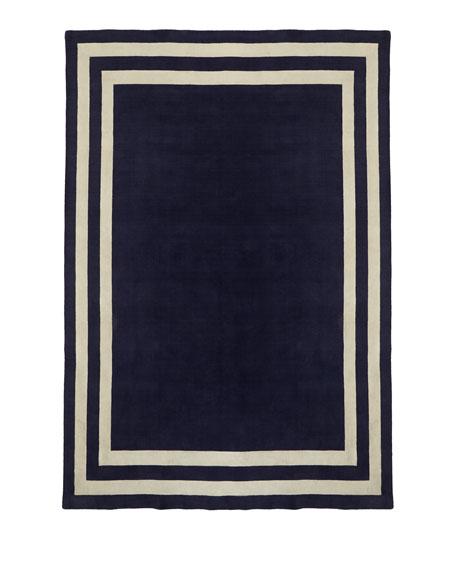 Fitzgerald Border Rug, 6' x 9'