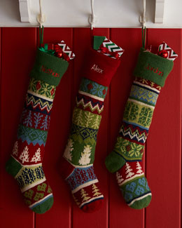 Knit Christmas Stockings