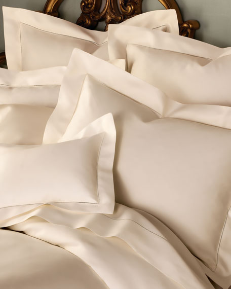 SFERRA King 1,020 Thread Count Solid Sateen Sham