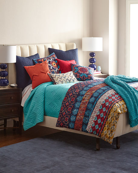 Queen Luisa Quilted Coverlet