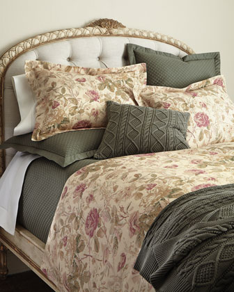 Wilton Rose Bedding