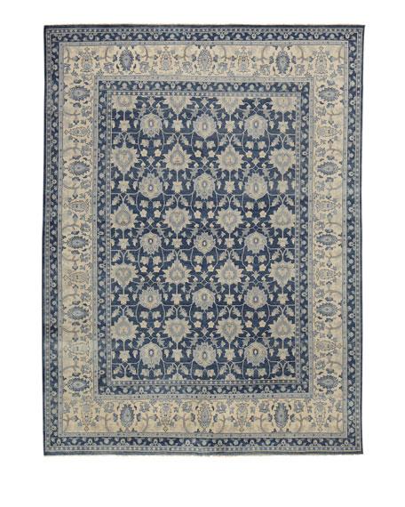 Blue Lark Rug, 6' x 9'