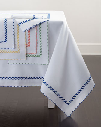 Madeira Chain Table Linens