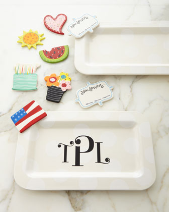 Happy Entertaining Mini Platter with Now Serving Attachment & Additional Attachments