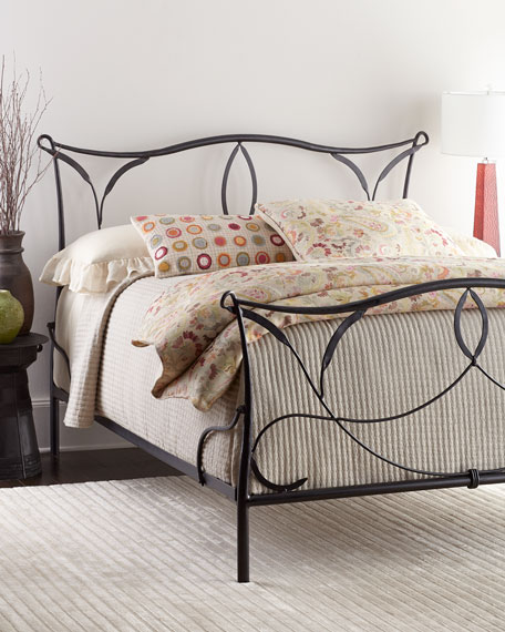 burton iron bed