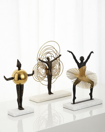Bauhaus Woman Sculptures
