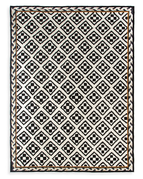 Courtyard Outdoor Rug, 8' x 10'