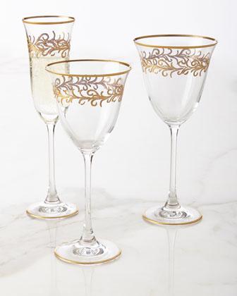Oro Bello Glassware