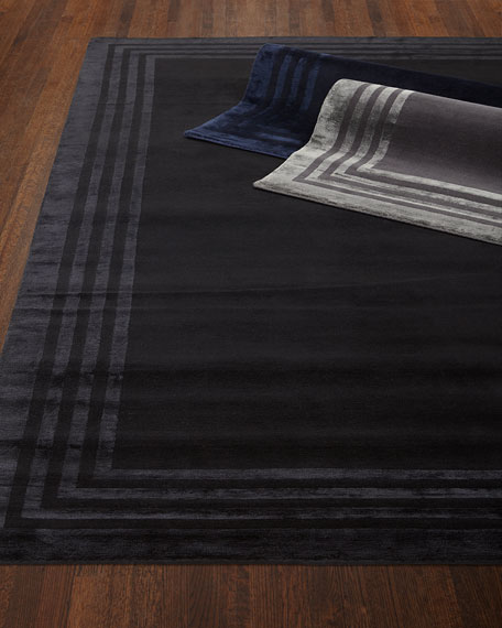 Ellington Border Rug, 6' x 9'