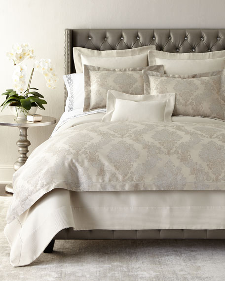 Queen Angelina Pique Coverlet