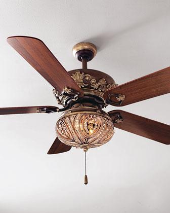 Chantel Ceiling Fan & Light Kit