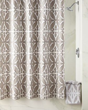 Khoma Shower Curtain & Towels