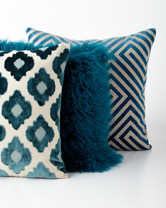 Blue Pillows