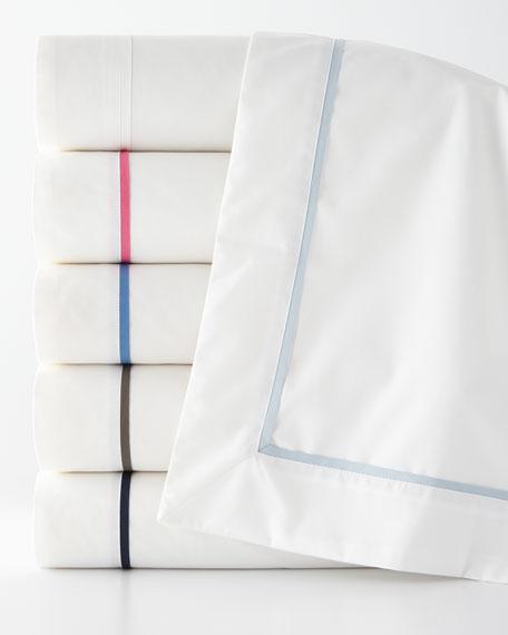 Twin Palmer Seed-Stitch Blanket