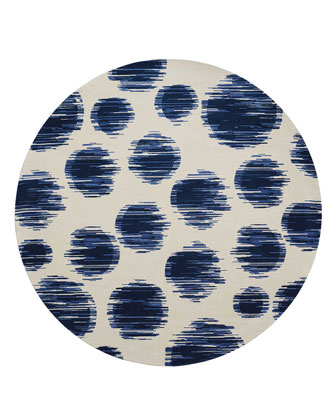 Twilight Kipling Dot Rug