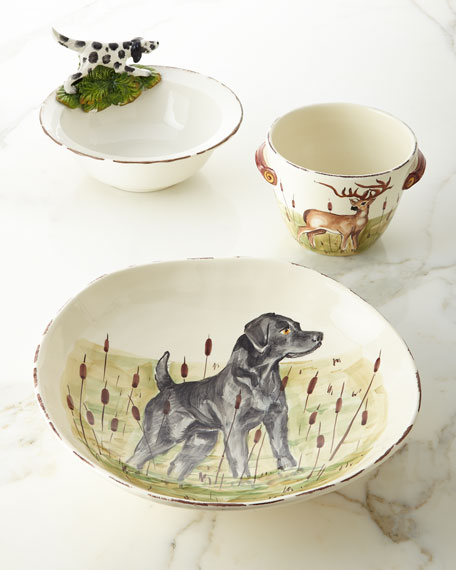 4 Assorted Wildlife Salad Plates