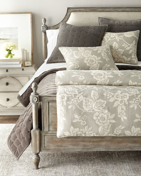 Full/Queen Charlotte Floral Duvet Cover