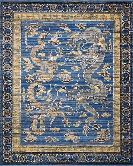 Dynasty Rug, 5.6' x 8'