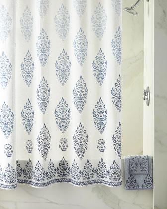 Jalati Bath Towels & Shower Curtain