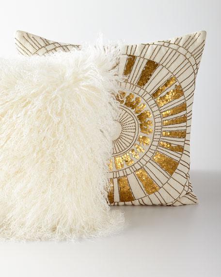 Mongolian Lamb Pillow