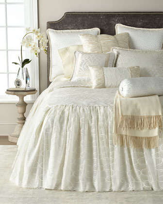 Wedding Bliss Queen Coverlet  and Matching Items