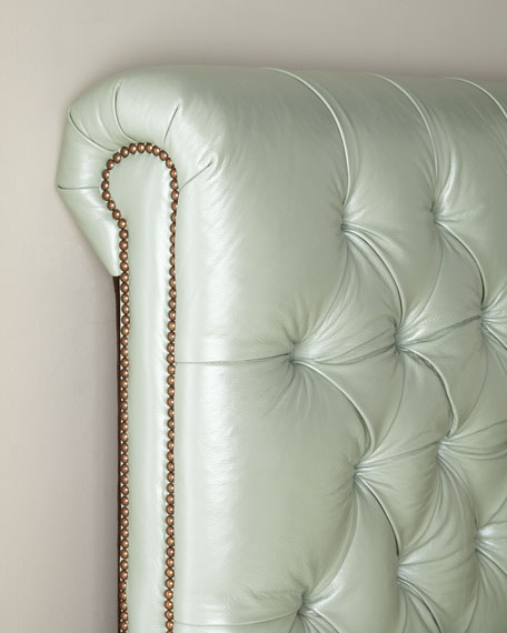 Spence Hand-Tufted Queen Bed