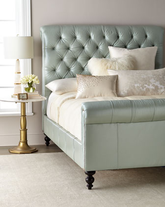 Spence Hand-Tufted Queen Bed and Matching Items