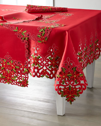 Poinsettia Table Runner