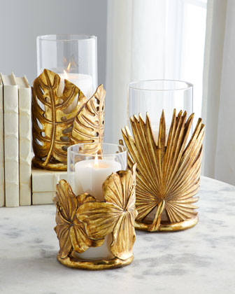 Hibiscus Leaf Candleholder  and Matching Items