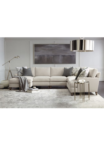 Mila Left Armed Chaise Sectional  and Matching Items