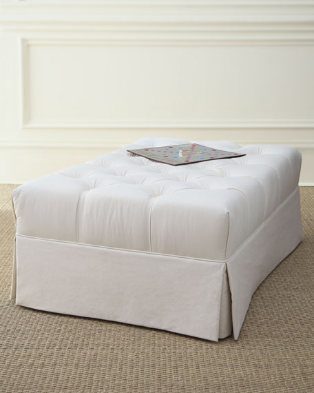 Ellsworth Rectangular Tufted Ottoman