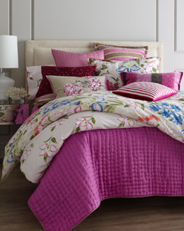"Designers Guild ""Lotus Flower"" Bed Linens"